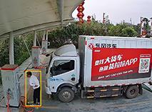 充電站海上方、加油站監控安裝(zhuang)